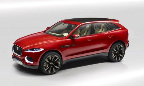Updated Jaguar C-X17 concept revealed at Brussels