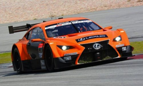 Lexus RC F-based GT500 Super GT racer revealed