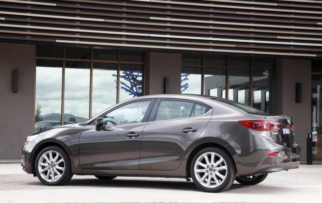 2014 Mazda3 sedan-rear
