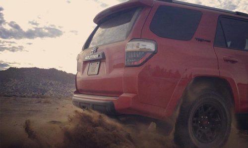 2014 Toyota 4Runner TRD Pro previewed, US-only model