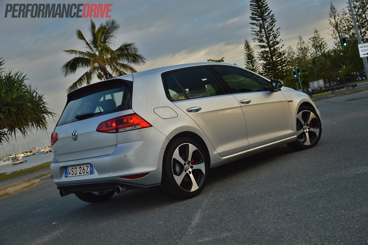 2014 Volkswagen Golf Gti Mk7 Review Video Performancedrive Gm 6 0 Engine Sensor Diagram Rear