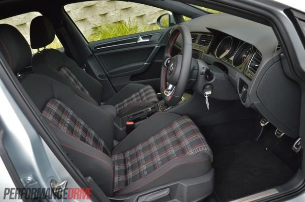 2014 Volkswagen Golf GTI Mk7 tartan trim