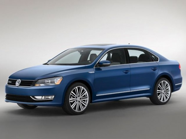 2014 Volkswagen Passat BlueMotion concept