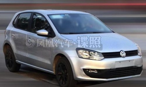 2014 Volkswagen Polo spotted undisguised