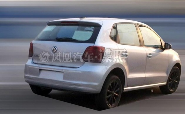 2014 Volkswagen Polo rear