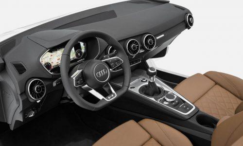 2015 Audi TT interior sneak peek, stuffed with technology