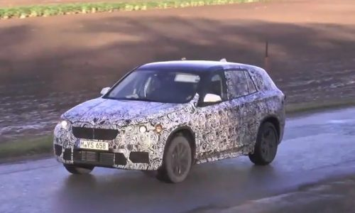 Video: 2015 BMW X1 prototype spotted with FWD