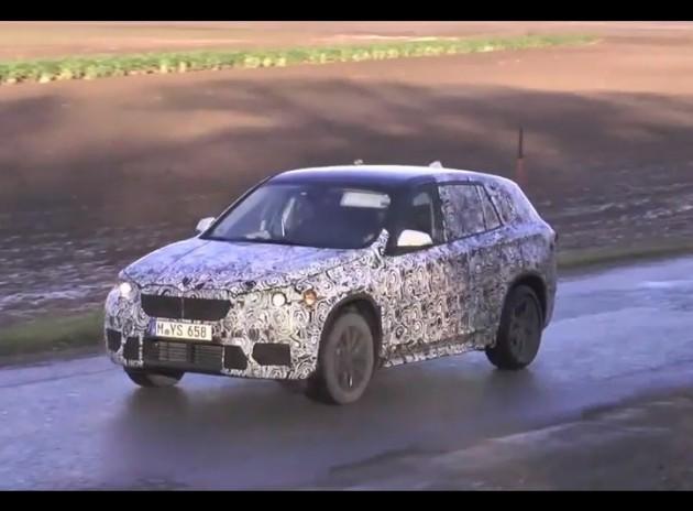 2015 BMW X1 prototype
