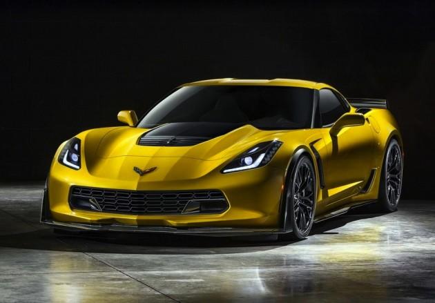 2015 Chevrolet Corvette Z06-yellow
