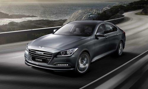 2015 Hyundai Genesis on sale in Australia in July
