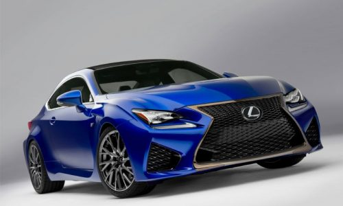 First look at Lexus RC F ahead of its Detroit debut