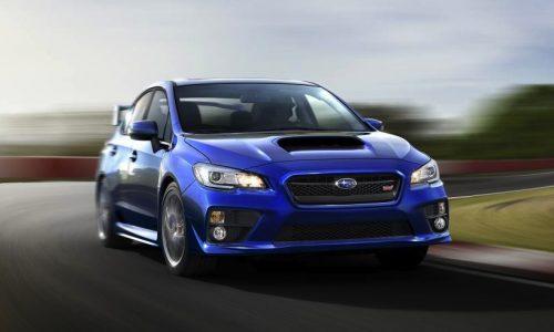 2015 Subaru WRX STI revealed, more power, more advanced