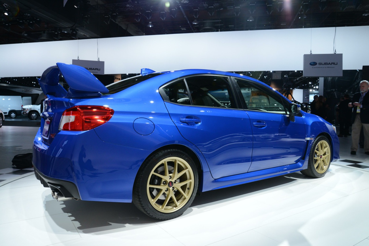 2015 Subaru Wrx Sti For Sale >> 2015 Subaru WRX STI revealed, more power, more advanced | PerformanceDrive