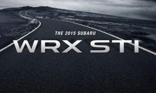 2015 Subaru WRX STI confirmed for Detroit debut