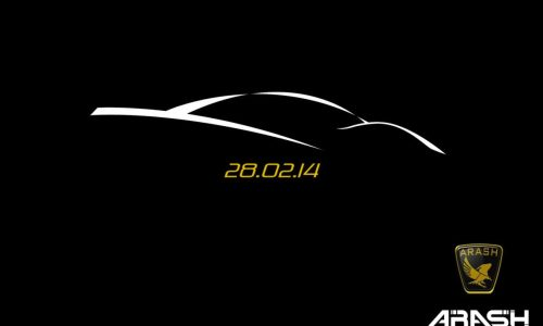 Arash Cars to unveil new supercar in February