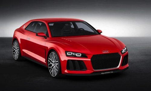 Audi production cars to get laser headlights