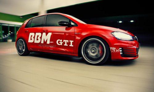 BBM Motorsport tunes the Volkswagen Golf GTI Mk7