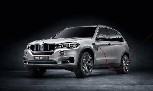 BMW X5 'xDrive40e' plug-in hybrid to arrive this year
