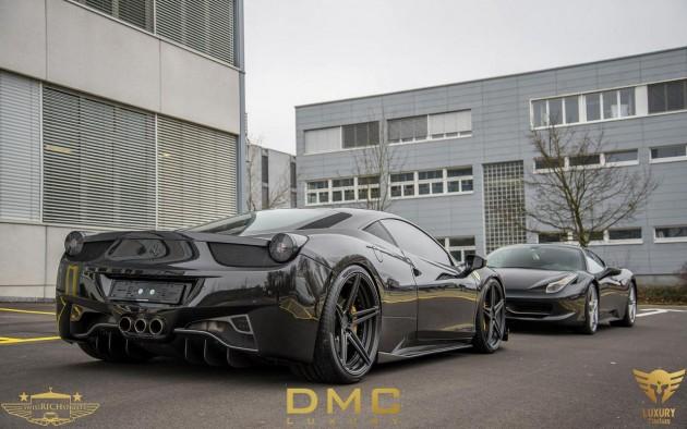 DMC Ferrari 458-rear