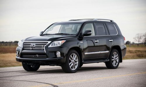 Hennessey gives the Lexus LX 570 a HPE500 tune