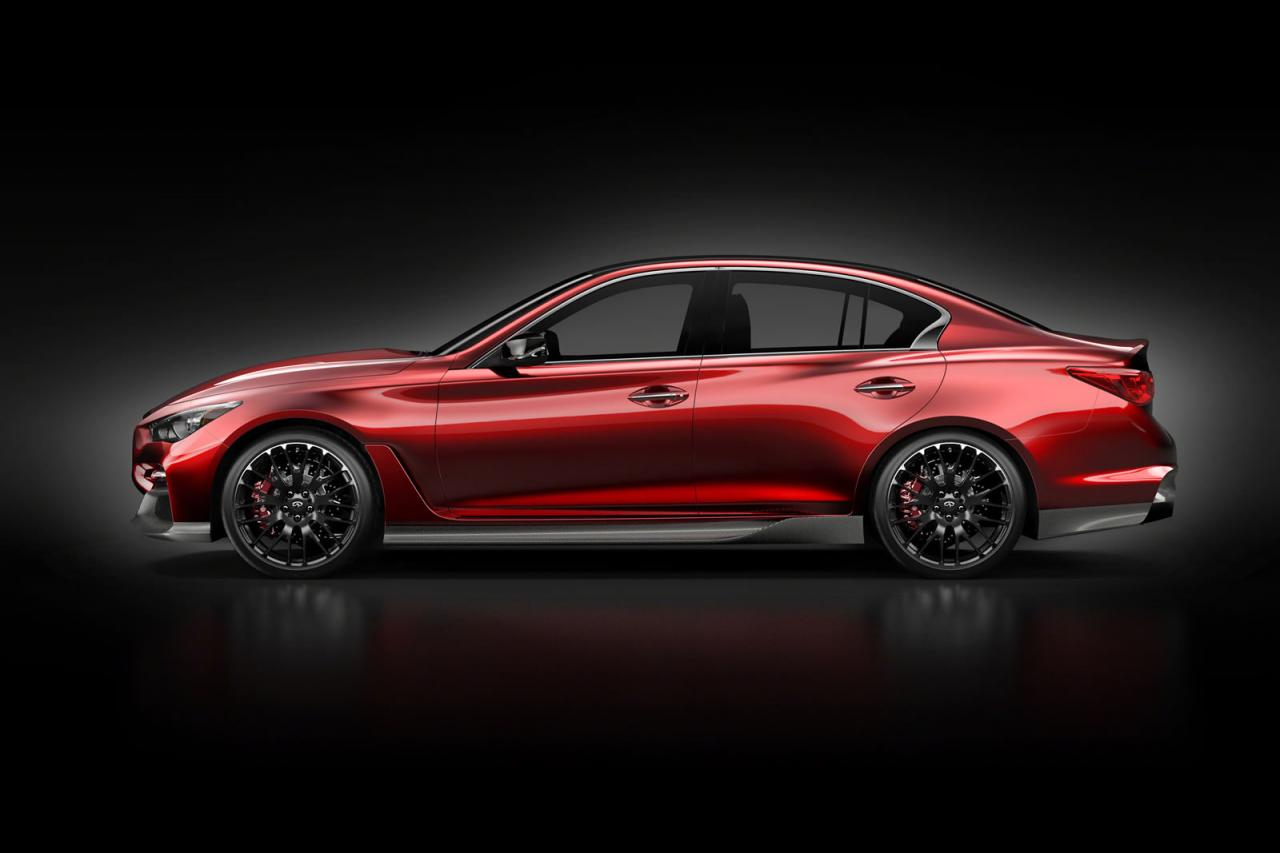 Infiniti Q50 Eau Rouge Concept Previewed Again