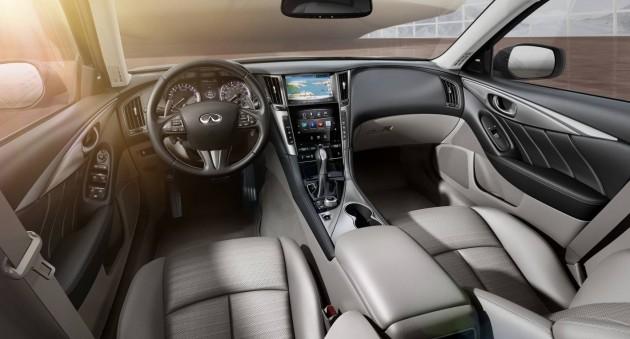 Infiniti Q50-interior