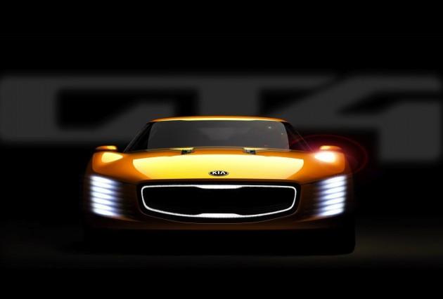 Kia GT4 Stinger concept preview