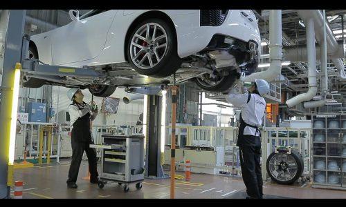 Lexus LFA has a fascinating production process