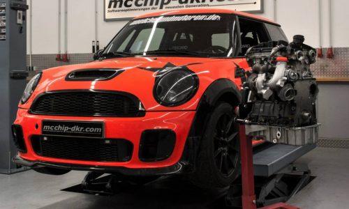 McChip gives MINI JCW an Audi 2.0 TFSI engine conversion