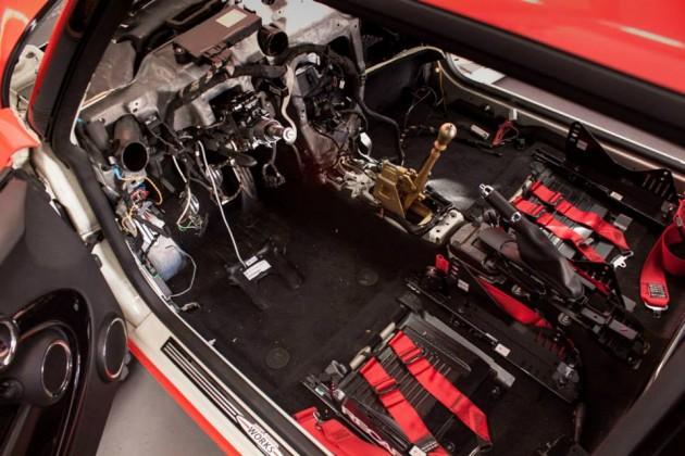 Mcchip MINI JCW Audi TFSI conversion-shifter