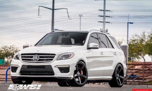 Mercedes-Benz ML 63 AMG gets 22in Vossen wheels