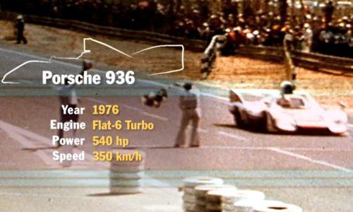 Porsche – Jacky Ickx 936 Le Mans tribute