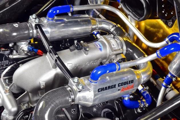 Radical RXC Turbo engine