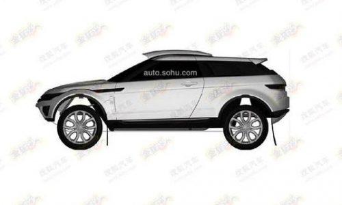 Range Rover Evoque rally version coming? patent found
