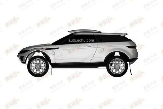 range rover evoque rally version coming patent found performancedrive. Black Bedroom Furniture Sets. Home Design Ideas