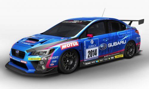 2014 Subaru WRX STI Nurburgring 24hr racer revealed