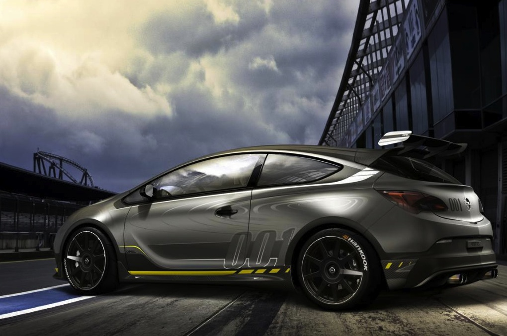 Opel Astra OPC EXTREME; fastest Astra ever