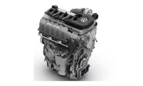 New Volkswagen V6 TSI appears, Golf R Evo engine?