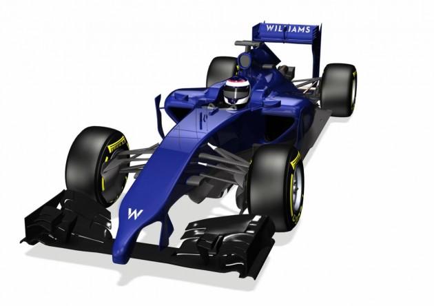 Williams FW36 2014 F1 car