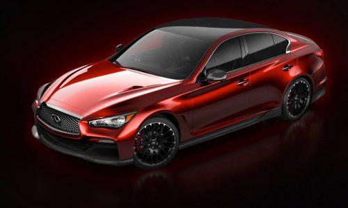 Infiniti unveils image of Q50 Eau Rouge concept