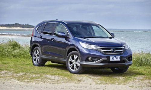Honda CR-V Diesel on sale in Australia