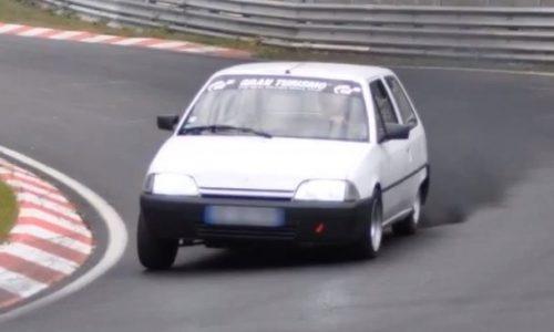 1993 Citroen AX 14D diesel laps Nurburgring in 9:55