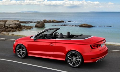 Audi S3 Cabriolet revealed, on sale late-2014