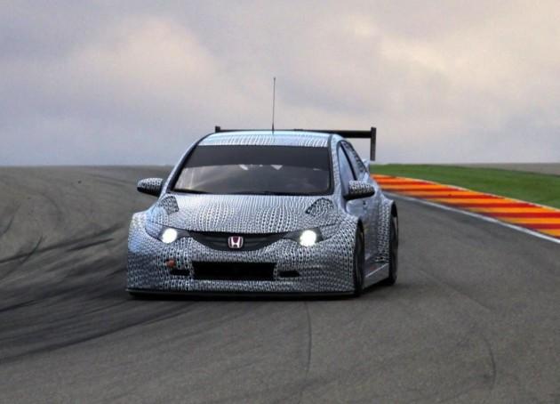 2014 Honda Civic WTCC prototype