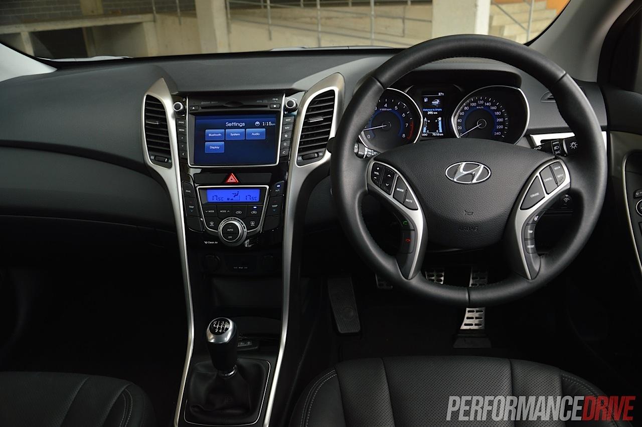 2014 Hyundai I30 Sr Interior