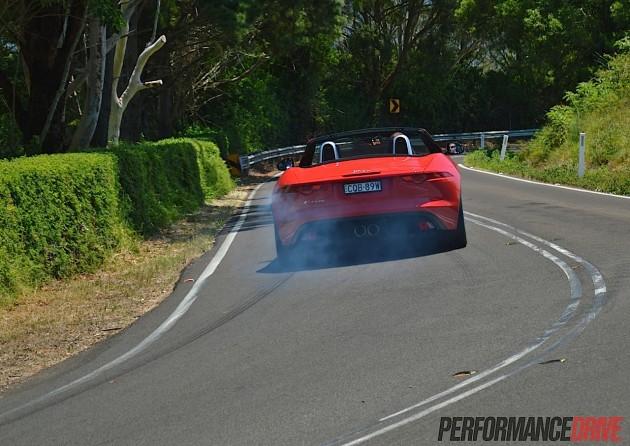 2014 Jaguar F-Type V6 open differential