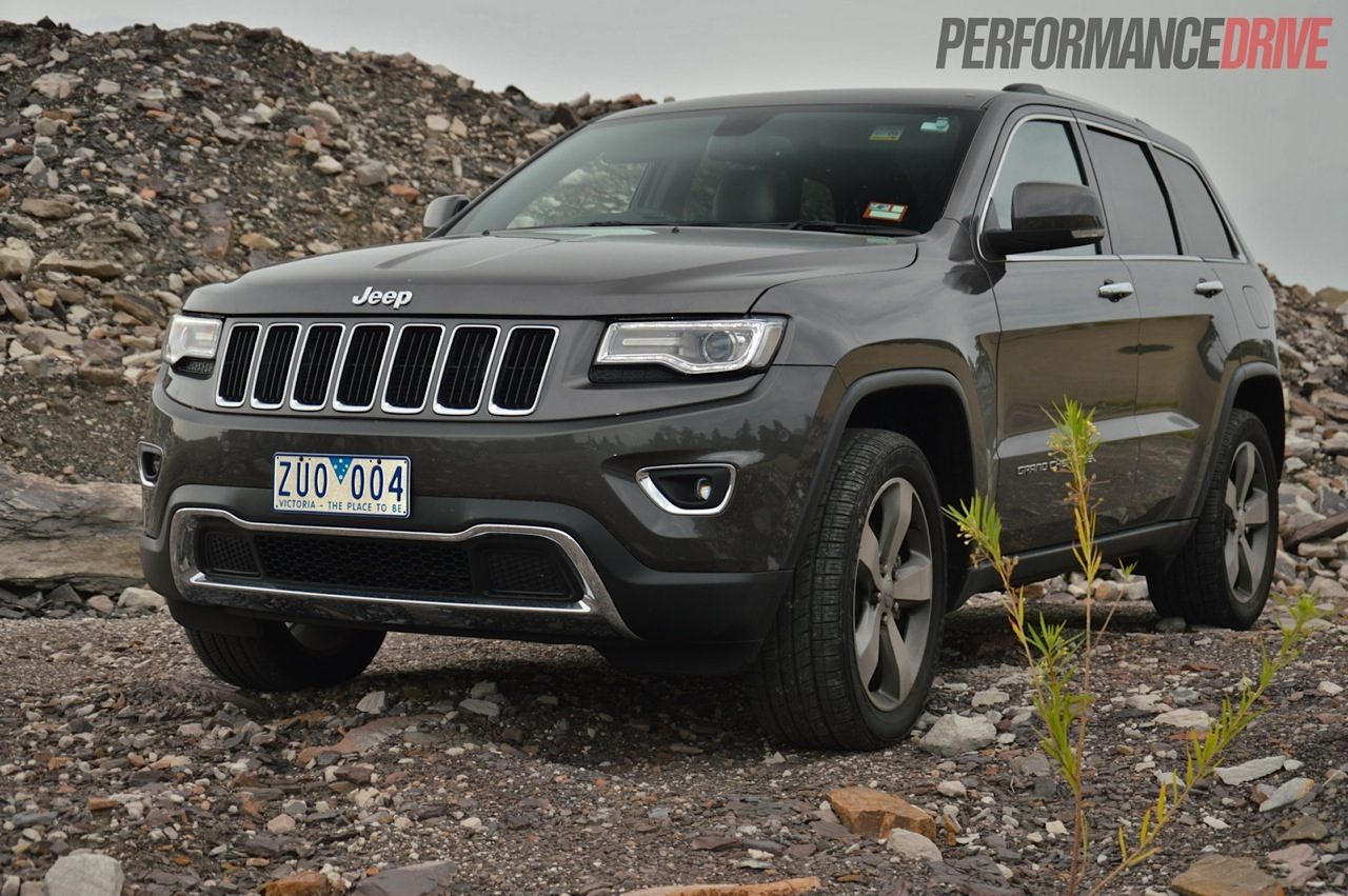 2014 Jeep Grand Cherokee Limited V6 review (video ...