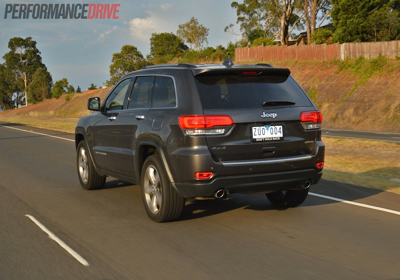 2018 Jeep Grand Cherokee Limited >> 2014 Jeep Grand Cherokee Limited V6 review (video)   PerformanceDrive