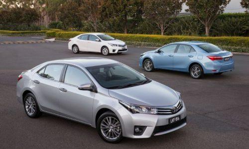 New 2014 Toyota Corolla sedan on sale from $20,740