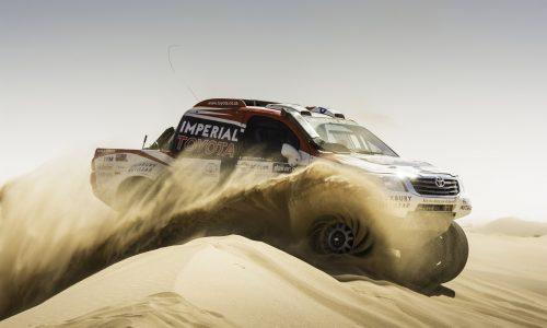2014 Toyota HiLux Dakar Rally